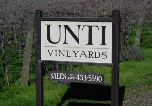 Slow Wine California – Unti Vineyards