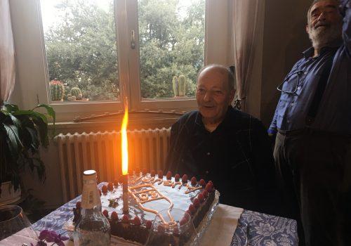 Metti un giorno un pranzo a sorpresa a Montalcino per gli 80 anni di Enzo Tiezzi