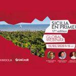 Sicilia En Primeur Global Webinar 2020