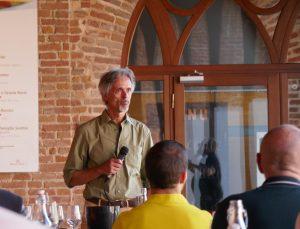 Mario Olivero, direttore dell'azienda Marchesi Alfieri