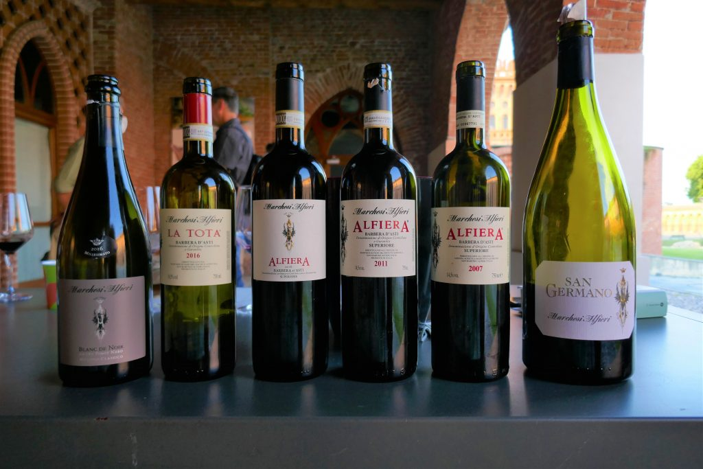 Marchesi Alfieri: vini in degustazione