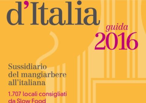Osterie d'Italia 2016: ecco l'introduzione in anteprima