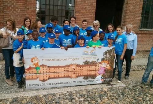 Sedici nazionalità e venti bambini per celebrare il riso