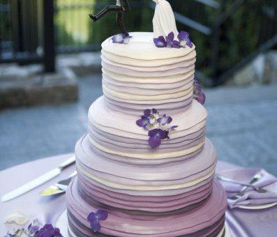 Sulla torta di nozze