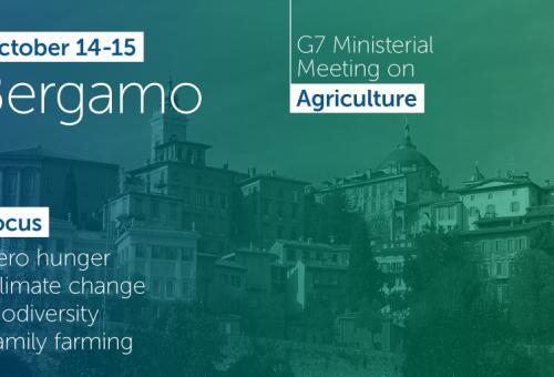 Carlo Petrini ai ministri del G7 di Bergamo: «Necessario istituire il Ministero dell'alimentazione e attivare politiche di cooperazione internazionale efficaci»
