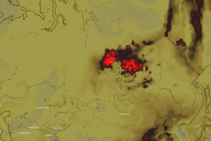 Siberia elaborazioni Nasa