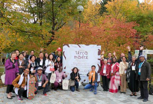 In Giappone chiude con gioia Indigenous Terra Madre Asia e Pan-Pacifico