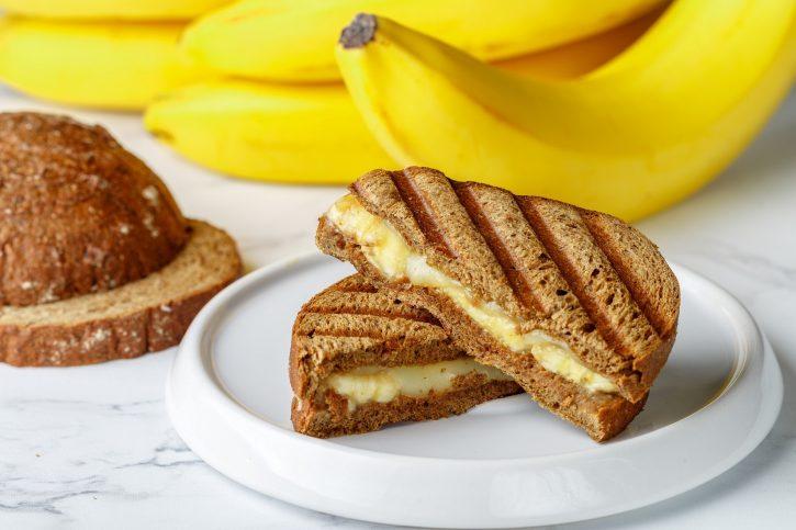 ricetta sandwich banana formaggio