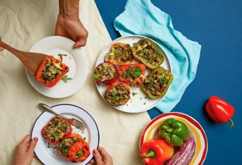 Meatless Monday presenta le ricette della tradizione: peperoni ripieni al fonio