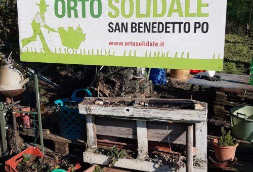 Orto solidale a San Benedetto Po